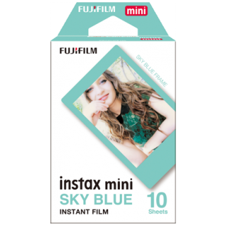 instax mini film Skyblue